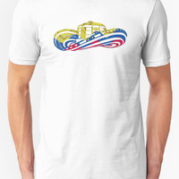 'Colombian Sombrero Vueltiao in Colombian Flag Colors' T-Shirt by Diego-t