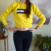 Tommy Yellow Sweater