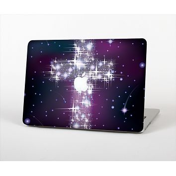 "The Glowing Starry Cross Skin Set for the Apple MacBook Pro 13"" with Retina Display"