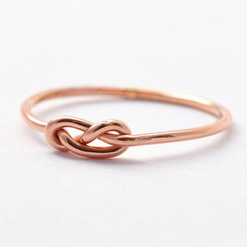 Rose Gold Infinity Ring: Gifts for Teen Girls