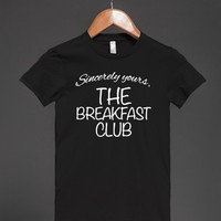 Cool 'Sincerely Yours, The Breakfast Club' Style T-Shirt