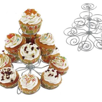 Cupcake Stand 3 Tier Cupcake Holder Party Wedding