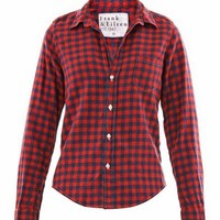 Barry check flannel shirt | Frank & Eileen | MATCHESFASHION.COM
