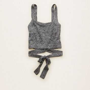 AERIE LUXE WRAP BRALETTE TOP