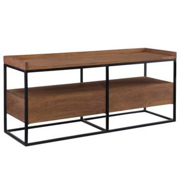 Moe's Home Collection Vancouver TV Stand in Light Brown