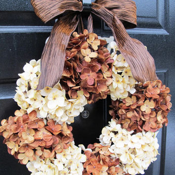 Fall Wreath, Front Door Wreath, Year Round Wreath, Housewarming Gift, Fall  Front