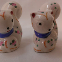 Squirrel  Salt and Pepper Shakers (674)
