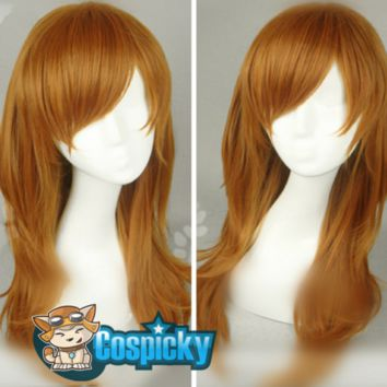 Lolita Brown Long Hair Wig CP167260