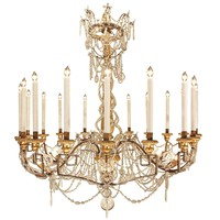Italian 18th Century Louis XVI Period Chandelier from Turin