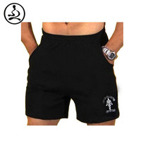 """Men's Gym Shorts With Pockets Bodybuilding Short Men Golds Gym Shorts Weight Lifting Workout Clothing Cotton Training 5"""" Inseam"""