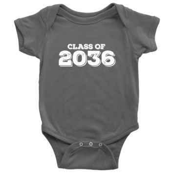 Class of 2036 Baby Onsie