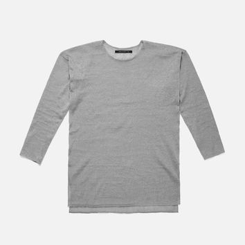 Linen Mercer Sweater / Plaster