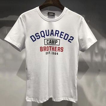 Brand:dsquared  Gender: Unisex Color:blackwhite  Season: Spring Summer Autumn  Style: Sport Casual  Material: Cotton