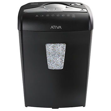 Ativa® 8-Sheet Microcut Shredder, 08MA01 Item # 876903
