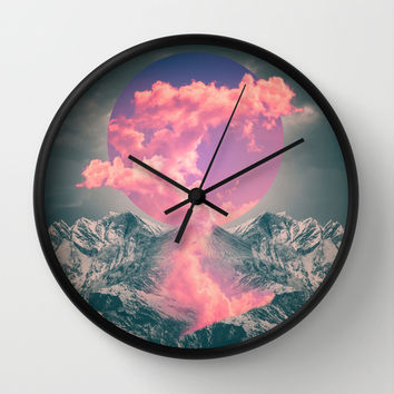 Ruptured Soul Wall Clock by Soaring Anchor Designs
