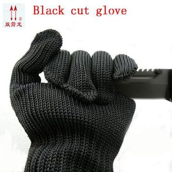 Protective Gloves Stainless Steel Low-Temperature Protection Gloves Strong Scratch Glass Knife Self-Defense Anti-Knife Gloves