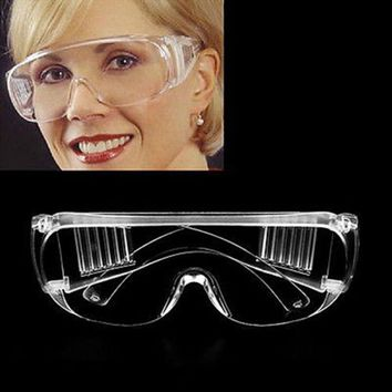 Vented Safety Goggles Glasses Eye Protection Protective Lab Anti Fog Clear New