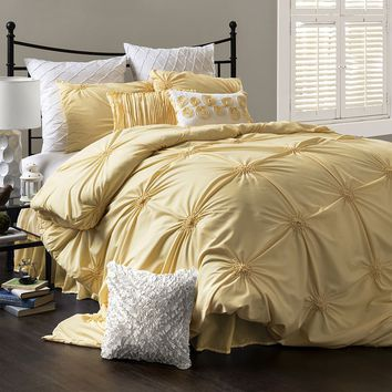 Lush Decor Bianca 4-pc. Comforter Set - Full/Queen