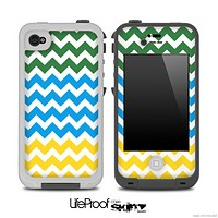 Wanelo V2 Colored Chevron Pattern Skin for the iPhone 5 or 4/4s LifeProof Case