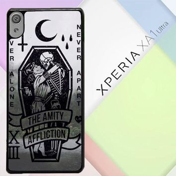 Amity Affliction Band L1344 Sony Xperia XA1 Ultra Case