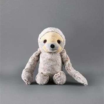 NANDOG MY BFF SLOTH PLUSH PET TOY GRAY