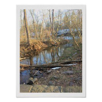 Creek Photo Poster