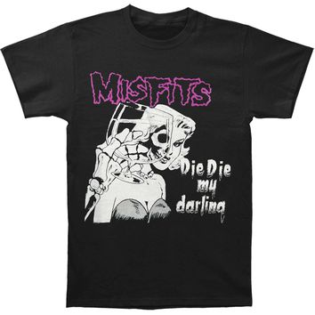 Misfits Men's  Die Die My Darling T-shirt Black