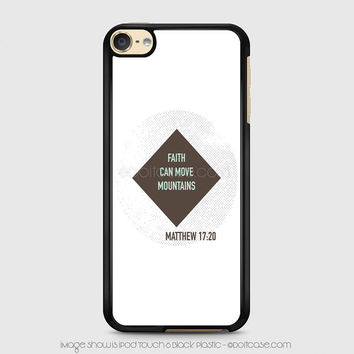 Bible verses iPod 6 Case, iPod Touch Case, iPod Case