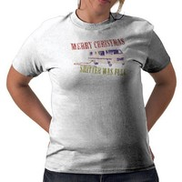 Merry Christmas Shi#ter Was Full Tee Shirt from Zazzle.com