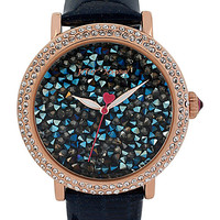 ROCK CRYSTAL NAVY WATCH NAVY