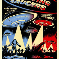 Earth vs. the Flying Saucers 27x40 Movie Poster (1956)