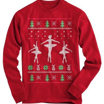 Ballerinas Ugly Christmas Sweater - On Sale