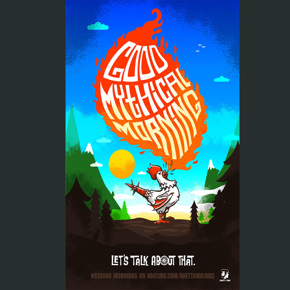good mythical morning poster from dftbacom