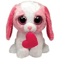 Ty Beanie Boos Buddy - Cookie the Dog with Heart