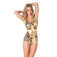 Women's All Over Print One Piece Bathing Suit Swimwear