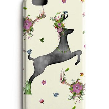 Deer Flowers iPhone X Case iPhone 8 Case iPhone 8