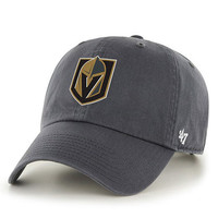 Forty Seven Brand Vegas Golden Knight Clean Up Hat In Charcoal