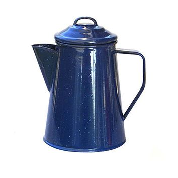 Alpine Mountain Gear 8 Cup Enamel Coffee Percolator