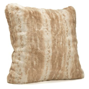 Blonde Mink Faux Fur Pillows by Fabulous Furs