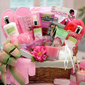 Sweet Bloom Gift Basket