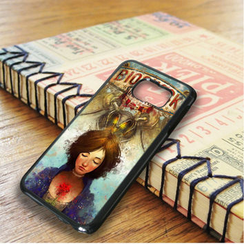 Briliant Bioshock Infinite Poster Samsung Galaxy S6 Edge Case