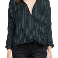 RVCA Commander Crossover Plaid Top | Nordstrom