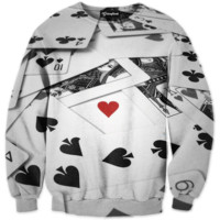 Heart of the Cards Crewneck
