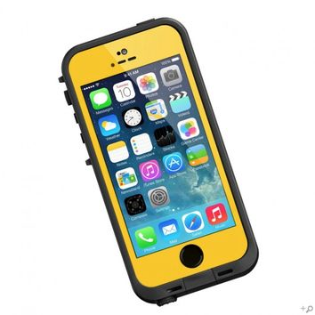 The Yellow & Black LifeProof FRE Case for the iPhone 5s