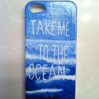 Ocean Case, Beach Case, Nautical Case, Iphone 4/4s/5