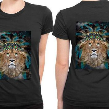 DCCKG72 The Lion King Fight For What You Love 2 Sided Womens T Shirt