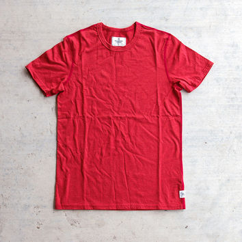 Reigning Champ SS Tee - Heather Red