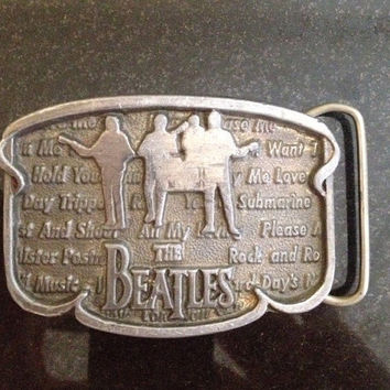 Limited Editon The Beatles Belt Buckle