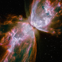 Butterfly nebula Space Poster 3 Sizes for one LOW price. (8x10 , 11x14, 11x17)