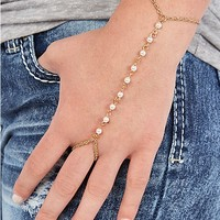 Mini Pearl Hand Chain